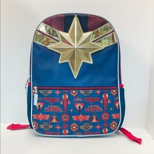 Captain marvel 16 inches backpack